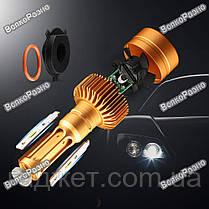 LED лампы  для авто с чипом Philips1515/1313 H4, светодиодные лампы для автомобиля, фото 3