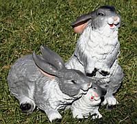 Семья зайцев H-27см, фото 1