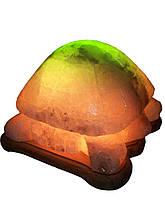Соляна лампа Черепаха 4-6 кг Біла,Кольорова лампочка