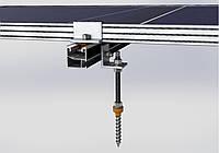 Система креплений солнечных батарей к металлочерепице, профнастилу и шиферу, фото 1
