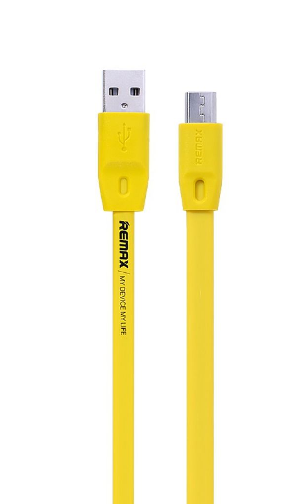 Lightning кабель Full Speed 2m yellow Remax 300025