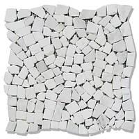 Мозаїка Стар.Валт. МКР-ХСВ (хаотична) 6 мм White Mix 23х15 мм