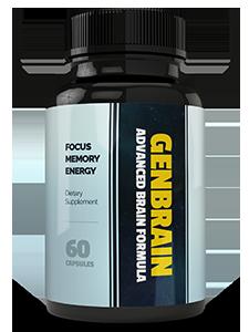 Brain - GenBrain (Брэйн - ГенБрейн) - капсулы для памяти. Цена производителя. Фирменный магазин.