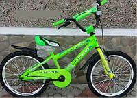 """Велосипед двухколёсный Azimut Stitch А 16"""" дюймов салатовый***"""