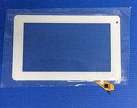 Оригинальный тачскрин / сенсор (сенсорное стекло) для Assistant AP-704 | AP-713 (белый цвет, самоклейка)