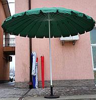 Зонт торговый, круглый, брезентовый, 24 спицы, 2.8 м, мод-024