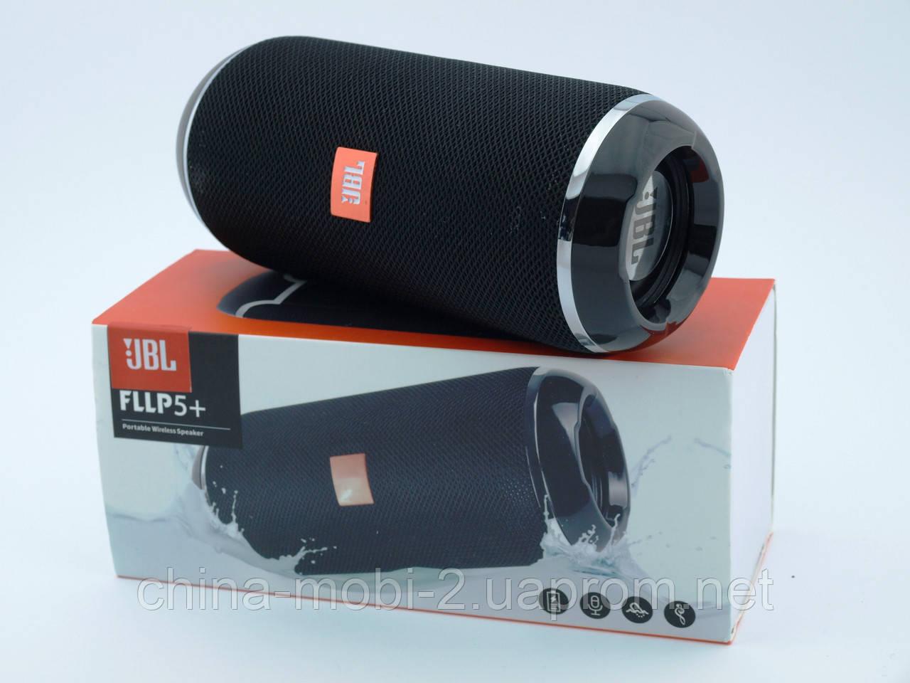JBL FLIP5+ 10W копия, блютуз колонка, черная