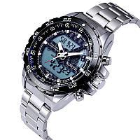 Мужские  спортивные часы NORTH армия (S-Shock)