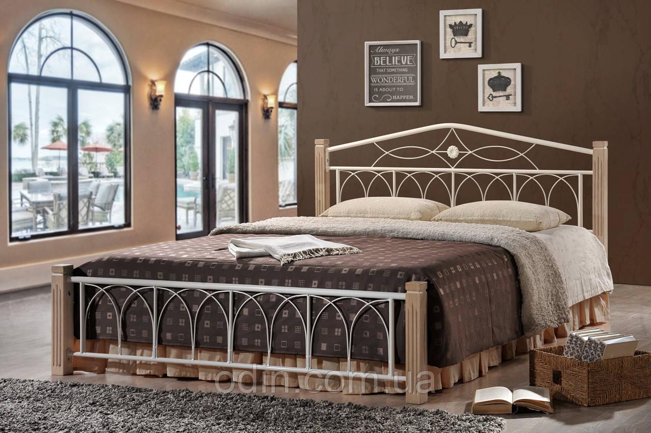 Кровать Миранда 160*200 крем (Domini)