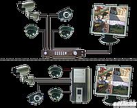 Монтаж систем відеонагляду будь-якої складності.