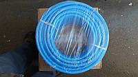Шланг 8 мм армированный, полиуретановый (синий) Италия 50 метров