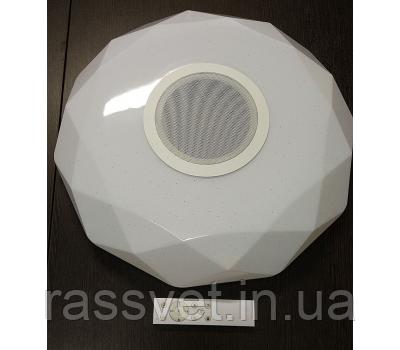 Led люстра на пульте с колонкой 30W 515мм*515мм 3000k/4500k/6500k/RGB/ Bluetooth Musik Player