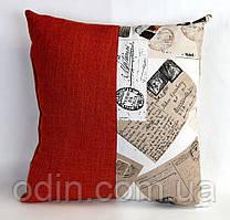Декоративна подушка Лонета Посткард