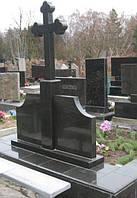 Надгробия  Комплекс с крестом 110х55х8