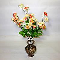 Искусственные цветы Букет полевой - колокольчик (12шт)