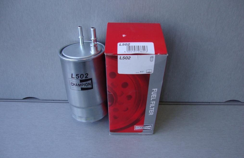 Фільтр очищення палива Сһамріоп l502 cff100502 для автомобілів Alfa, Fiat, Opel, Citroen