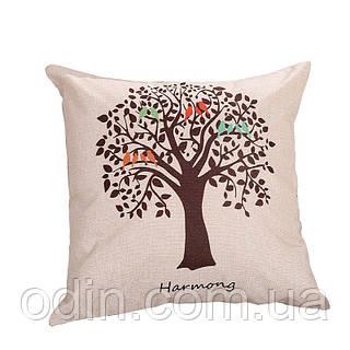 Декоративная подушка Дерево Весна