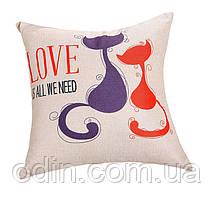 Декоративна подушка Коти