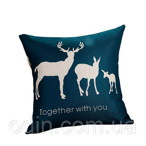 Декоративная подушка Бэмби