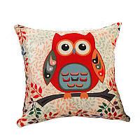 Декоративна подушка Сова 1