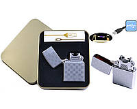 Электроимпульсная зажигалка JIN LUN (USB)