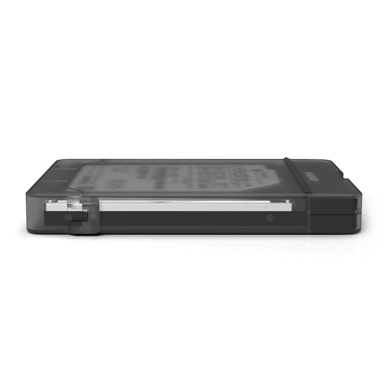 Карман для жесткого диска MAIWO K104 Hard Drive Enclosure for 2.5 с адаптером для подключения HDD 2,5  PS4 чер