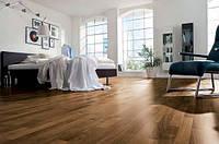 Линолеум коричневый под доску бытовой для дома либо магазина, 3 м ширина. отрезной