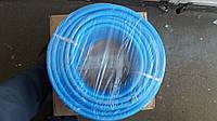 Шланг 10  мм армированный, полиуретановый (синий) Италия 50 метров