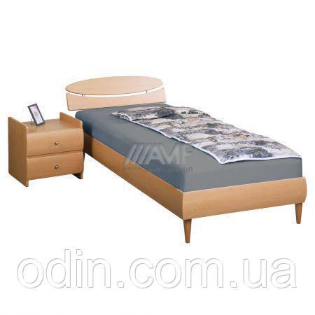 Кровать 0,8х2 Кэнди (МДФ),бук, ножки буковые конус бук 139899