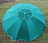 Зонт торговый, садовый 2,5м с клапаном 12 спиц. Усиленный зонт для торговли на улице!