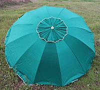 Зонт торговый, садовый 2,5м с клапаном 12 спиц. Усиленный зонт для торговли на улице!, фото 1