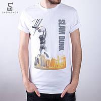 Футболка мужская Liberty - Slam dunk, белая, фото 1