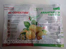 Протравитель инсекто-фунгицидный АС-СЕЛЕКТИВ ПРОФИ + Авангард Картофель (30 + 30 мл) — картофель, рассада