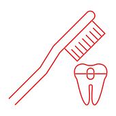 Уход за брекетами / протезами / имплантами