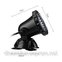 Светильник подводный для басcейна комплект  4шт x 2W 12V LED Белый  размер 70мм*95мм IP68, фото 2