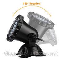 Светильник подводный для басcейна комплект  4шт x 2W 12V LED Белый  размер 70мм*95мм IP68, фото 5