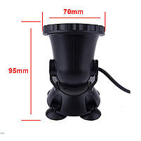 Светильник подводный для басcейна комплект  4шт x 2W 12V LED Белый  размер 70мм*95мм IP68, фото 6