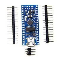 Arduino Nano V3 ATmega328 + Ch340g 16 мГц UART USB, фото 1