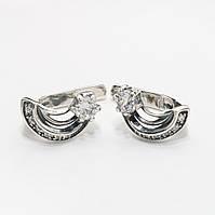 Серебряные серьги 1111212