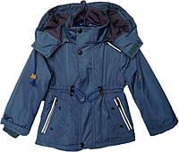 """Куртка детская демисезонная """"Tofeina"""" #608 для мальчиков. 1-2-3-4-5 лет. Синяя. Оптом., фото 1"""