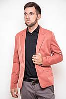 Стильный мужской пиджак клубный коралловый