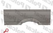 Крыло заднее правое /3265 /до стекла Mercedes Sprinter 06- Polcar