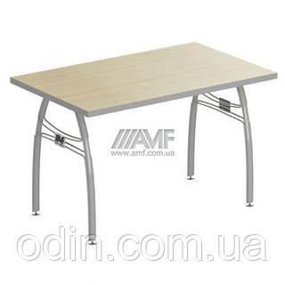 Стол конференц. М420 АртМобил мет.каркас клен/серый 140301
