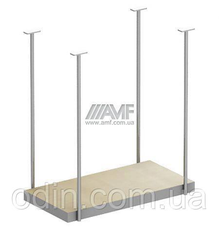 Подвеска сист. блока М250 АртМобил (250х500х540мм) клен/кромка серый металлик 140162