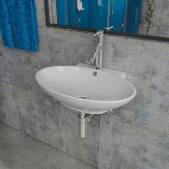 Умывальник Kerabad KB-K59 (раковина в ванную комнату) 53*40 Овальная форма