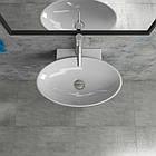 Умывальник Kerabad KB-K59 (раковина в ванную комнату) 53*40 Овальная форма, фото 2