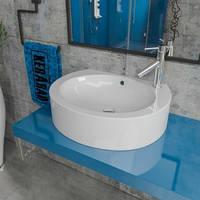 Умывальник накладной на столешницу KERABAD KBW 127 (раковина в ванную комнату)