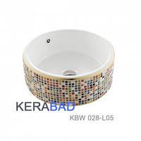 Умывальник мозаичный (Раковина чаша мозаичная) KERABAD КВW028-L05