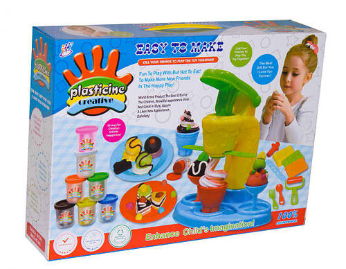 "Набор для творчества ""Plasticine creative"" мороженица"