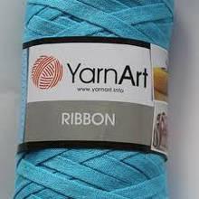 Трикотажная лента YarnArt RIBBON (60% хлопок, 40% вискоза и полиэстер)125м